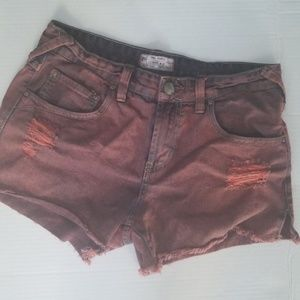 Free People| Distressed cut off shorts